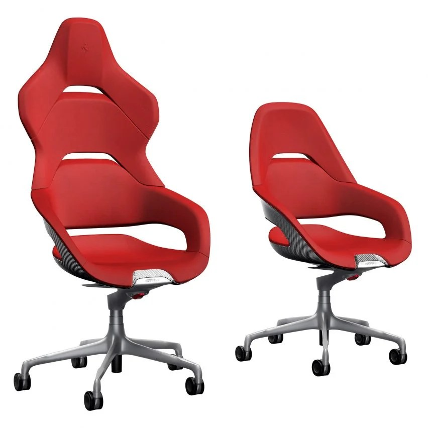 ferrari office chair swivel base uk design team creates cockpit for poltrona frau shown at milan week the comes in two versions president which features a higher backrest based on racing seats
