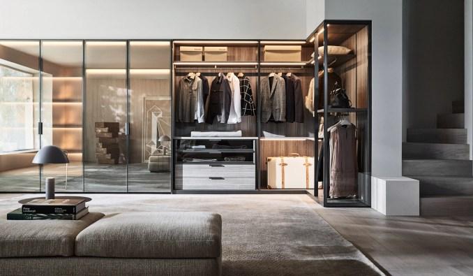 Molteni flagship showroom by Vincent van Duysen at Milan design week