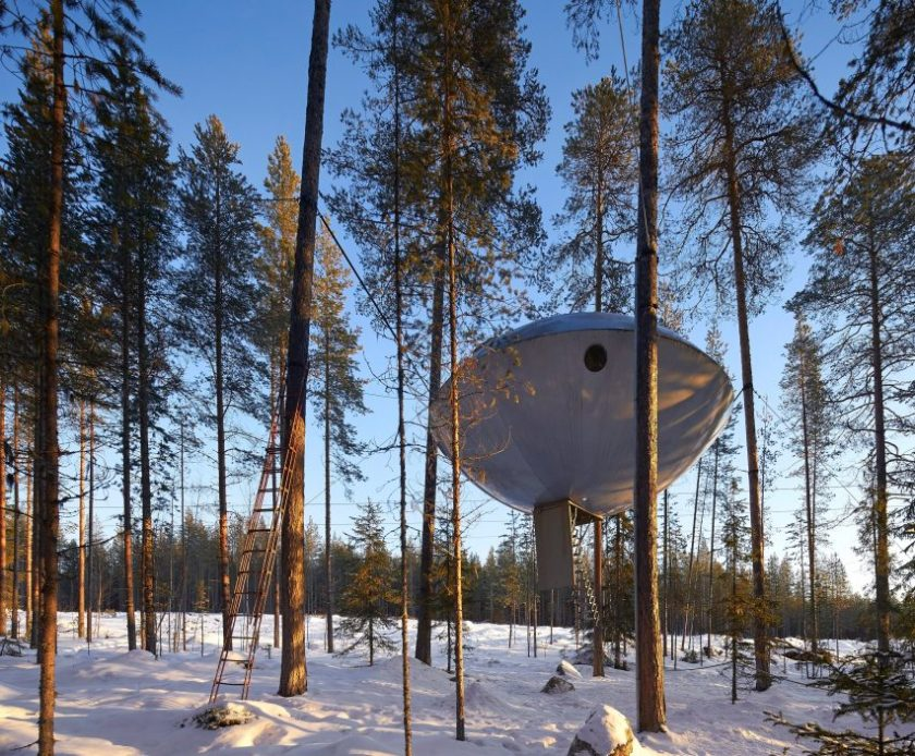 Treehotel photos by Hufton + Crow