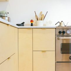 Kitchen Furniture Ikea Apartment Kitchens Plykea Hacks S Metod With Plywood Fronts By