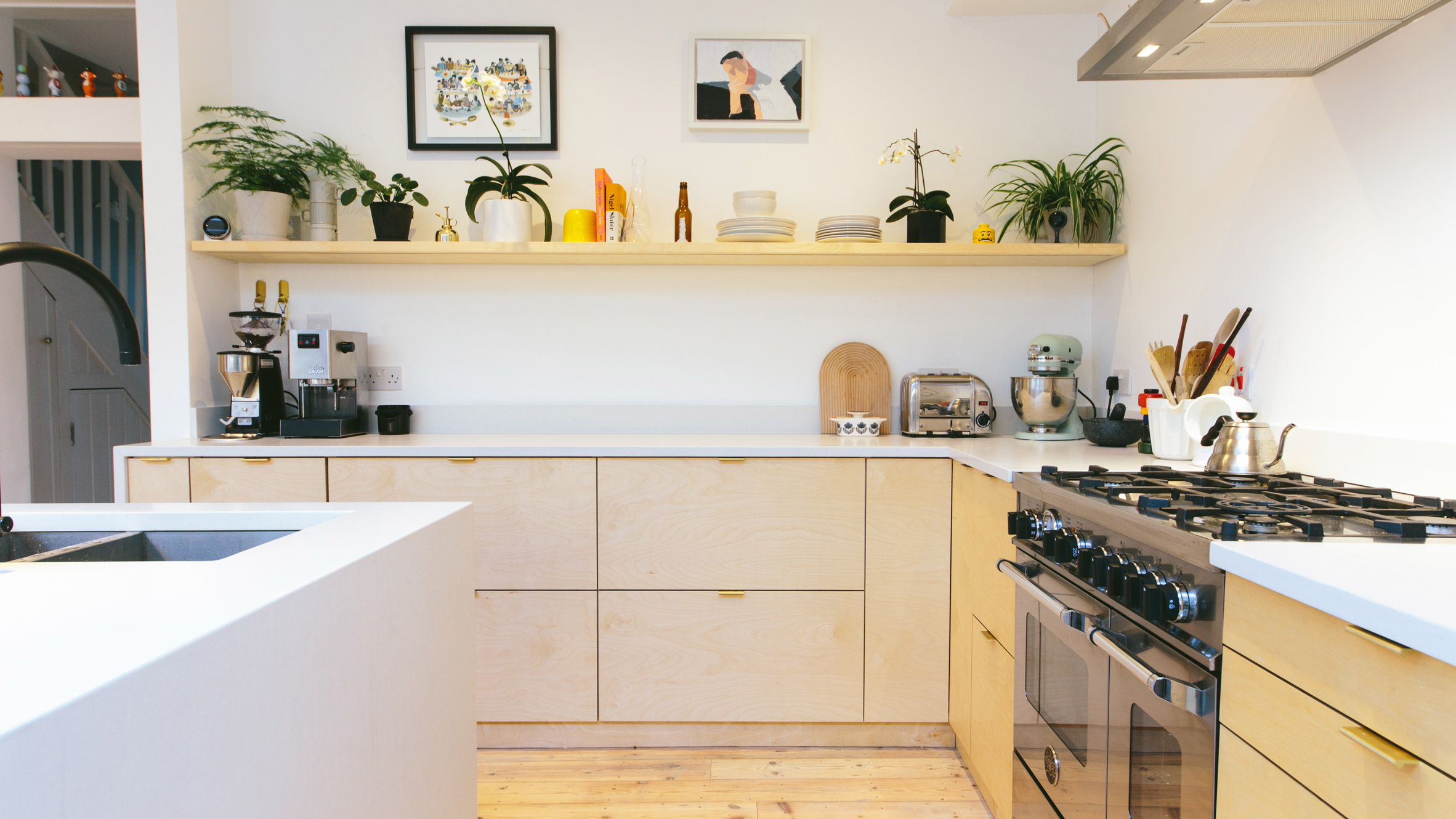 Plykea hacks IKEAs Metod kitchens with plywood fronts