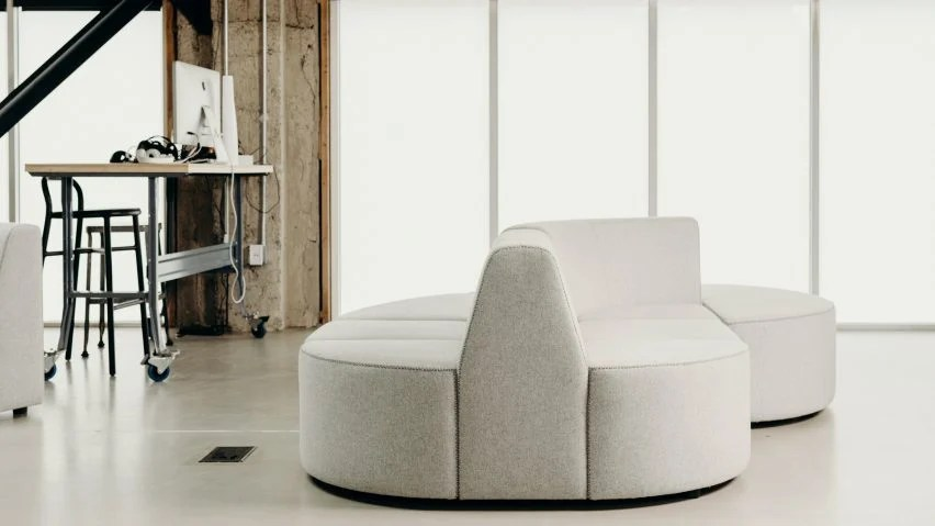 co design office chairs chair sofa bed airbnb founder joe gebbia designs modular furniture
