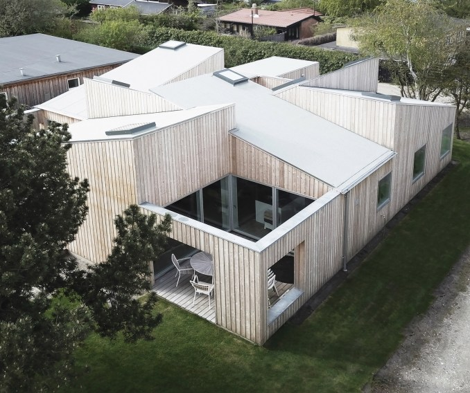 The Roof House by Sigurd Larsen