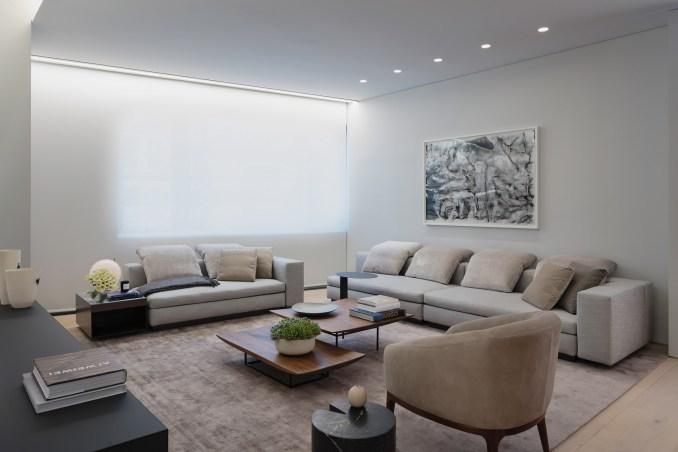 Tadao Ando's 152 Elizabeth Street apartment block interior