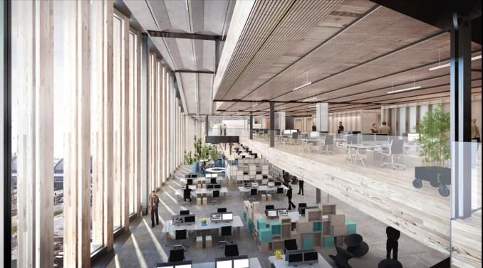 Google HQ London by BIG and Heatherwick