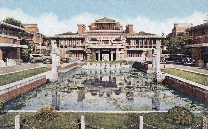 The Imperial Hotel by Frank Lloyd Wright