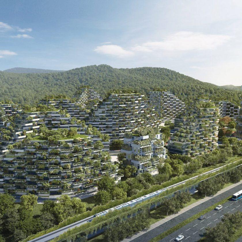 Liuzhou Forest City by Stefano Boeri Architetti