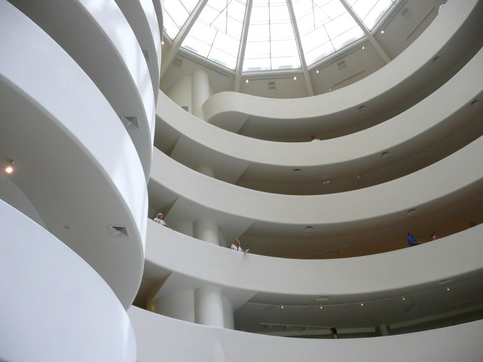 Guggenheim by Frank Lloyd Wright