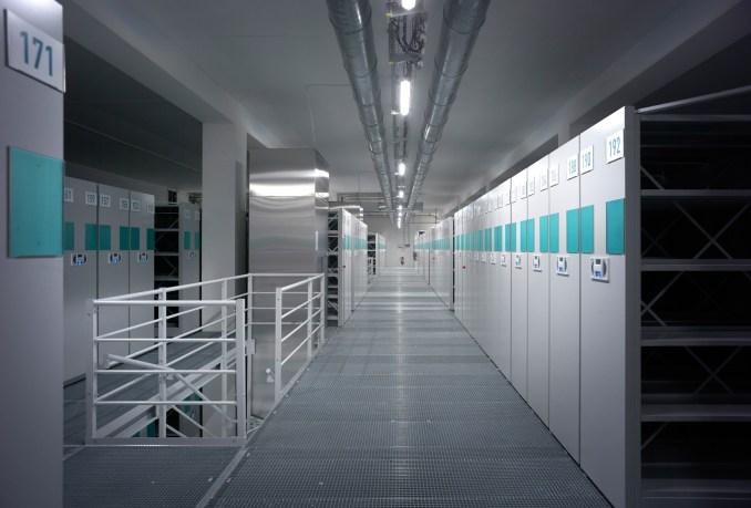 Bussy Saint Georges archive building