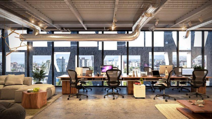 Chapultepec 500 office block, Mexico, by MAPmx studio