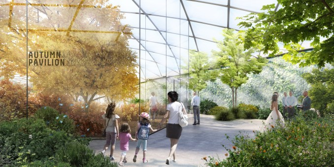 Garden with Four Seasons, Milan, Italy, by Carlo Ratti Associati