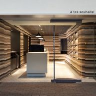 à tes souhaits ice cream and chocolate shop, Tokyo, Japan, by Nendo