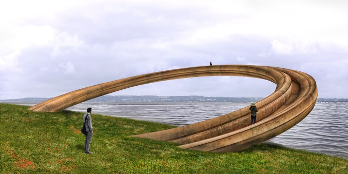 Iron Ring installation by George King Architects
