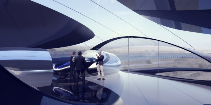 Faraday Future headquarters by MAD Architects