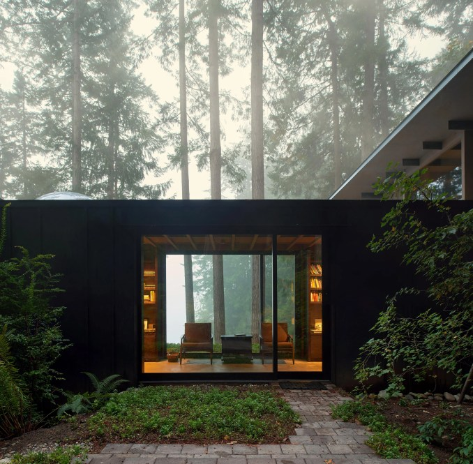 Architect Jim Olson expands tiny cabin