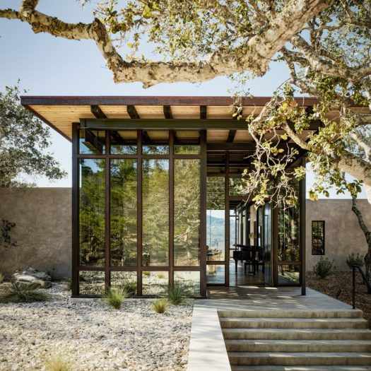 Studio Schicketanz design house in Carmel Valley called Tehama 1
