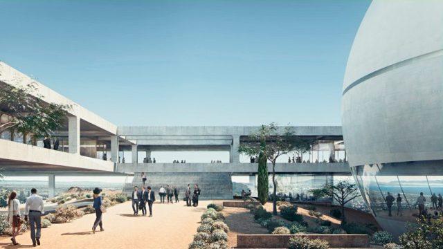 Berggruen Institute LA branch by Herzog & de Meuron