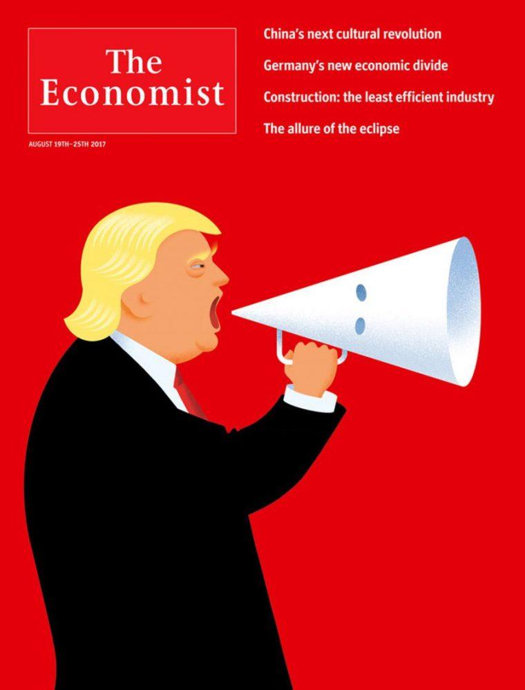 Le grand magazine couvre la haine de la route d'adresse en Amérique