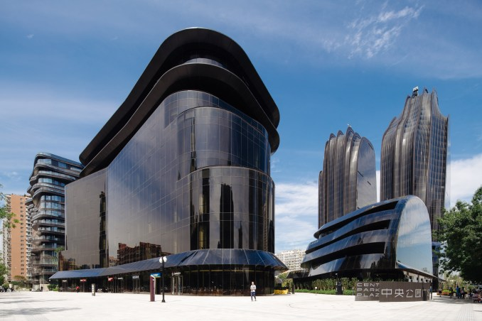 Chaoyang Plaza, MAD Architects photographed by Khoo Guo Jie