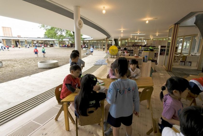 Fuji Kindergarten by Tezuka Architects