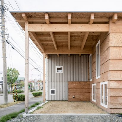 Jun Igarashi Architects Uses Loophole Inanese Planning To Equip Hokkaido House For Snowy Winters