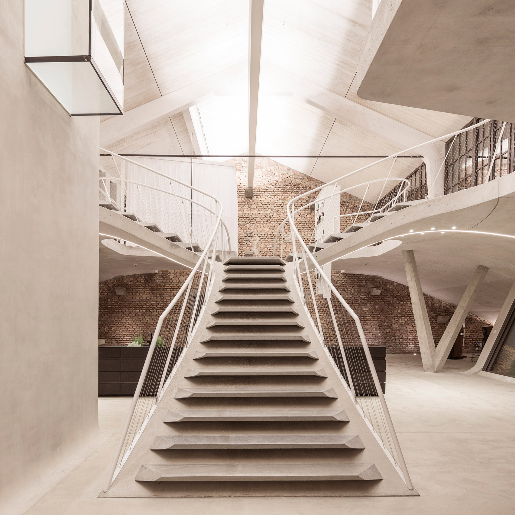 Dezeen s top 10 staircases of 2017 architectural cad for Architectural stairs