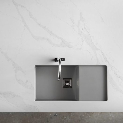 Spanish surface manufacturer Compac has launched its Unique collection of quartz, made using a combination natural materials and resins.