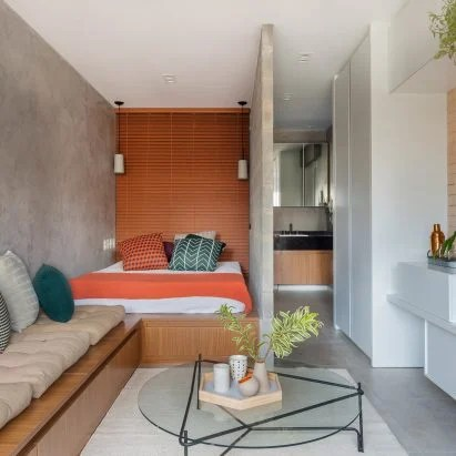 designing small apartment living rooms decoration ideas for design and interiors dezeen tria arquitetura creates flexible spaces within compact sao paulo brazilian architecture studio