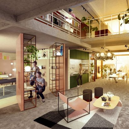 Coliving and shared accommodation  Dezeen