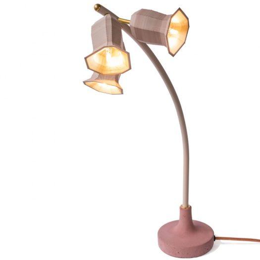 Plant lamps by Kiki van Eijk at Dutch Design Week