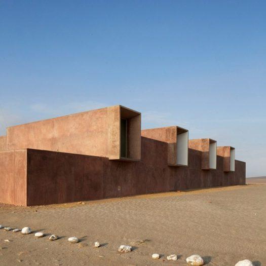 Museo de Sitio Julio C Tello by Barclay & Crousse