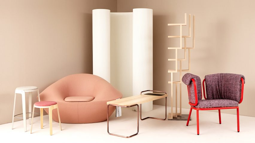 chair design brands pottery barn table and chairs kids students team up with six swedish to create furniture collection prototypes
