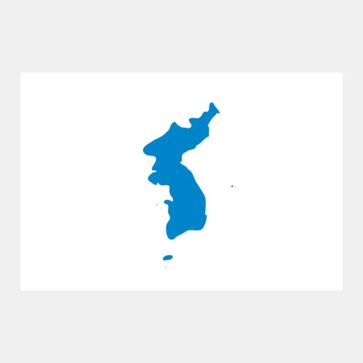 Korean unification flag is under fire from protesting Japan | Dezeen