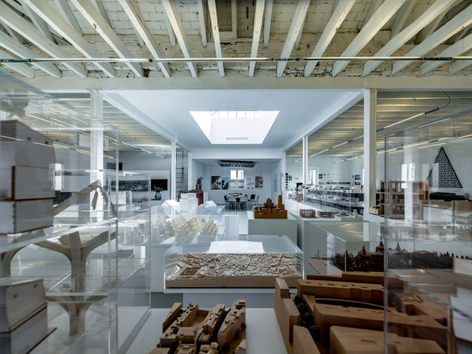 Spaces by Jose Manuel Ballester for Norman Foster Foundation
