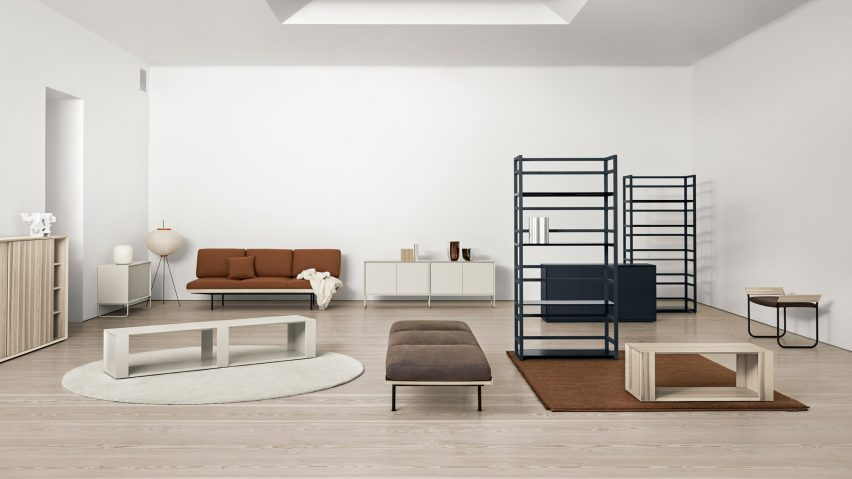 modern living room furniture 2018 industrial style voice launches accessible scandinavian collection the equivalent of wardrobe essentials
