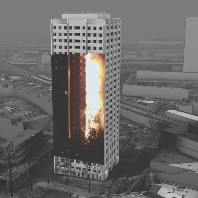 Forensic Architecture to create 3D video of Grenfell Tower fire