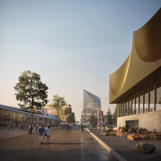 Oslo Airport City by Haptic Architects