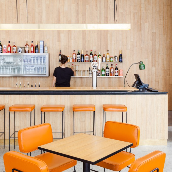 IAB Restaurant by Gabriel Kogan and Guilherme Pianca