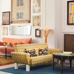 Hotel With Living Room Rugs For In Home Goods Kelly Wearstler Furnishes San Francisco Proper European Vintage Design
