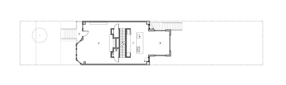 medium resolution of basement floor plan gable house by edmonds lee architects