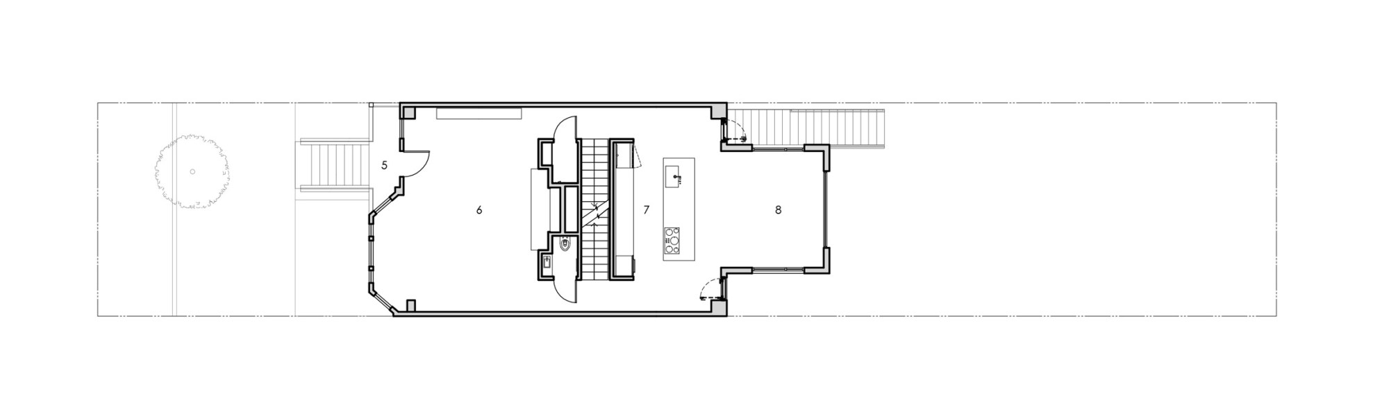 hight resolution of basement floor plan gable house by edmonds lee architects