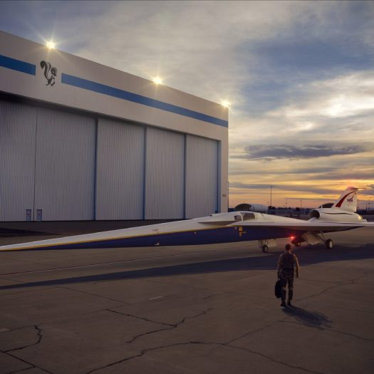 NASA's supersonic X-Plane goes into production