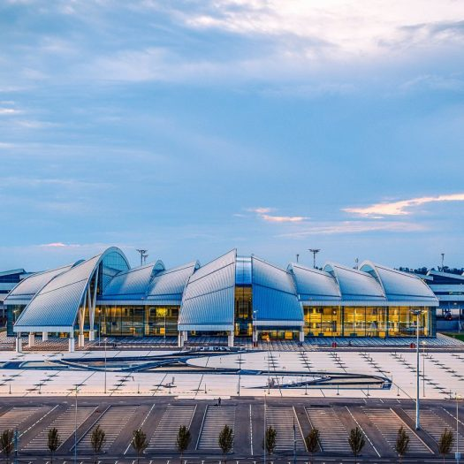 Platov Airport by Twelve Architects