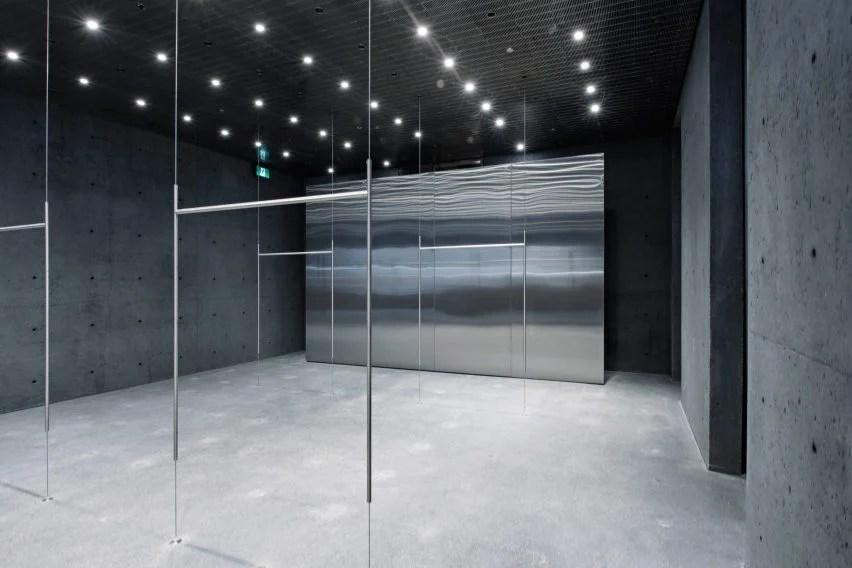David Chipperfield designs metallic interiors for Ssenses Montreal store