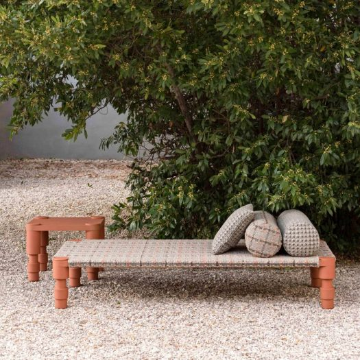 Patricia Urquiola's outdoor furniture collection celebrates Mughal culture