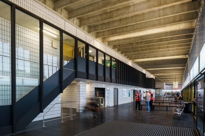 Preston Bus Station by John Puttick Associates