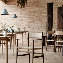 Chair Design Restaurant Covers Cheapest Price Studio David Thulstrup Designs Furniture For Copenhagen Noma Redzepi Wanted To Make The Chairs As Comfortable Possible Stating That His Wish Was Guests Be Able Sit In An Armchair Without Having