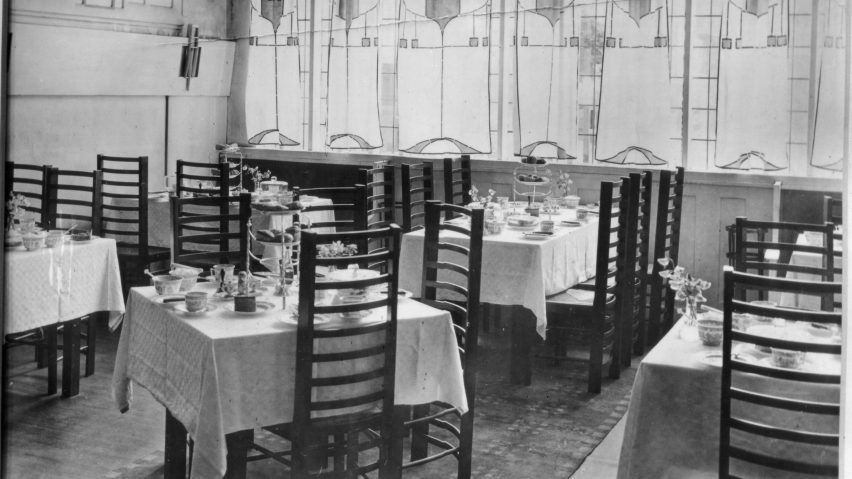 charles rennie mackintosh willow chair drexel heritage dining chairs tea rooms is s most complete interior design