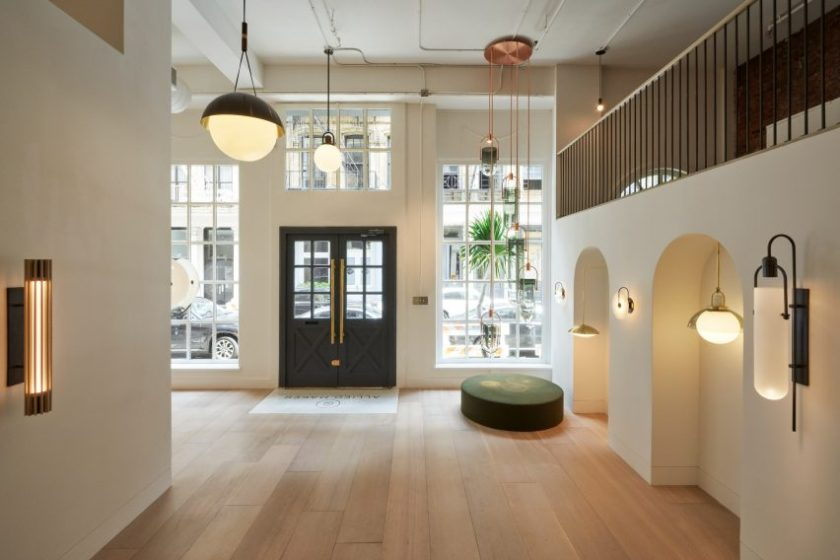 Allied Maker showroom by Mesarch Studio