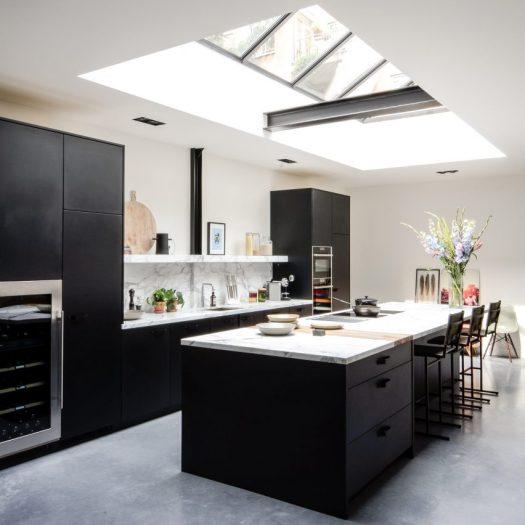 Standard Studio use patio and skylights to funnel light into Amsterdam loft